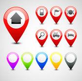 GPS pin set