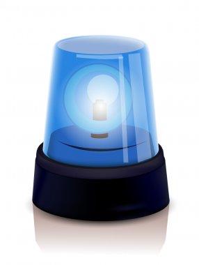 Blue Police beacon