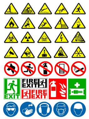 Safety and warning signs