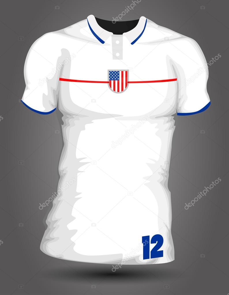 Maillot De Football Usa Image Vectorielle Robin2b C 44060931