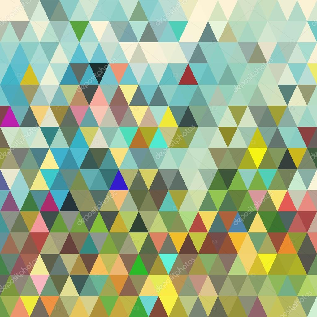 Abstract geometric triangle seamless pattern. Abstract ...
