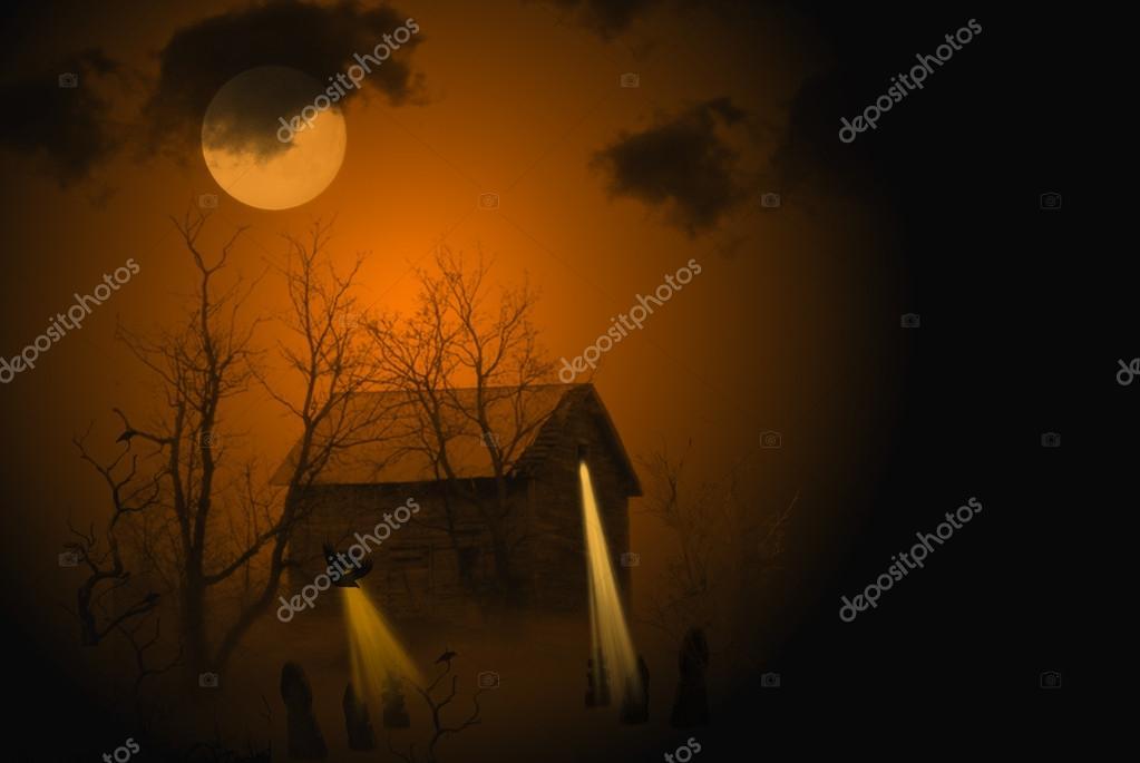 Midnight Halloween Haunt — Stock Photo © jentara #13909773