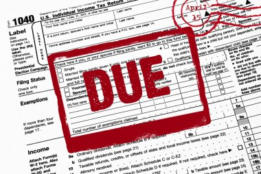 Due date on income tax form