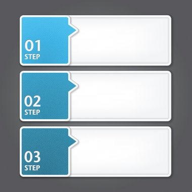 Modern Design template. can be used for infographics. numbered banners.