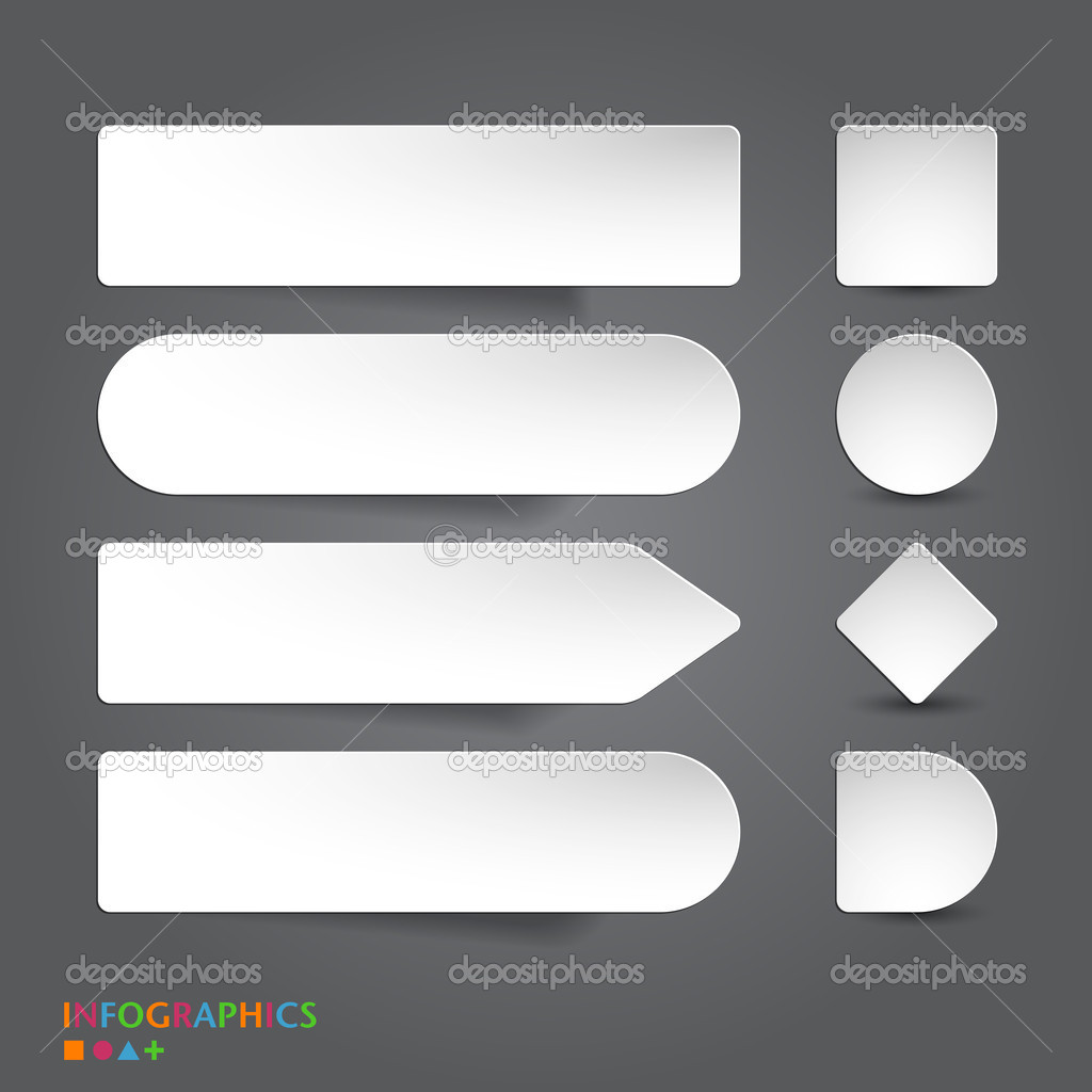 Abstract infographics banner, label, tag designs template. — Stock ...