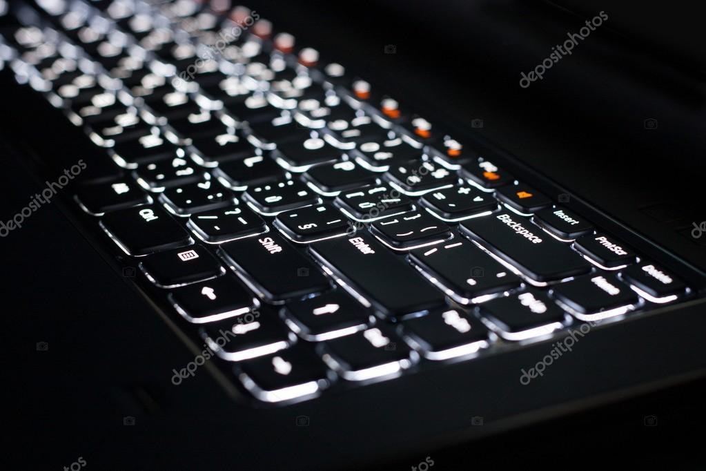 verlicht toetsenbord — Stockfoto © Premek #26633591