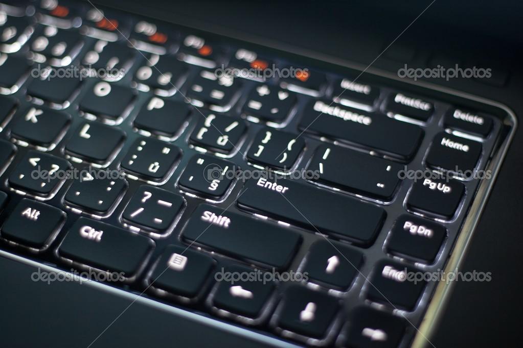 verlicht toetsenbord — Stockfoto © Premek #26635771
