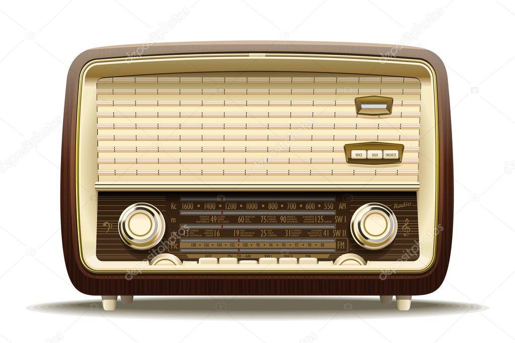 Radio antigua archivo im genes vectoriales antoniobanderas 18045869 - Fotos radios antiguas ...