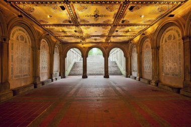 Lower Passage of Bethesda Terrace.