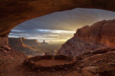 Anasazi ruins.