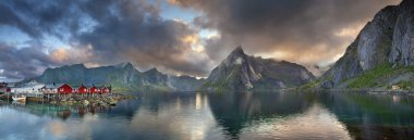 Lofoten Islands Panorama.
