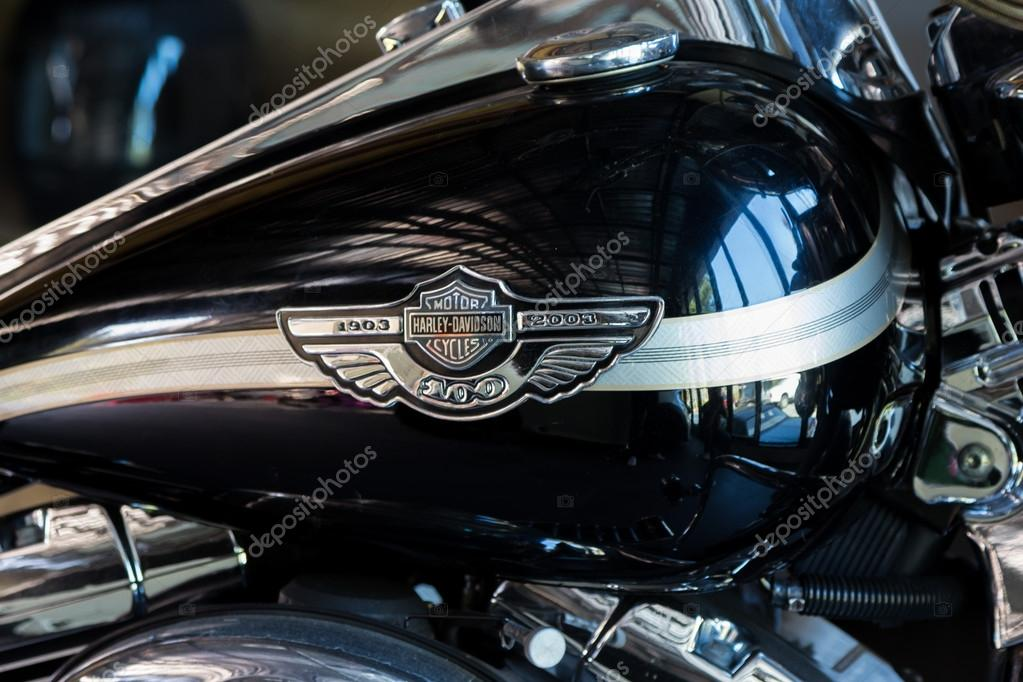 Fuel tank of the motorcycle Harley-Davidson
