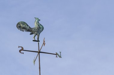 Old weathercock or windvane