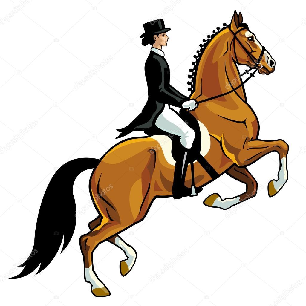 Drssage Rider Stock Vector C Insima 13782415
