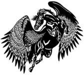 Fotografia pegasus nero