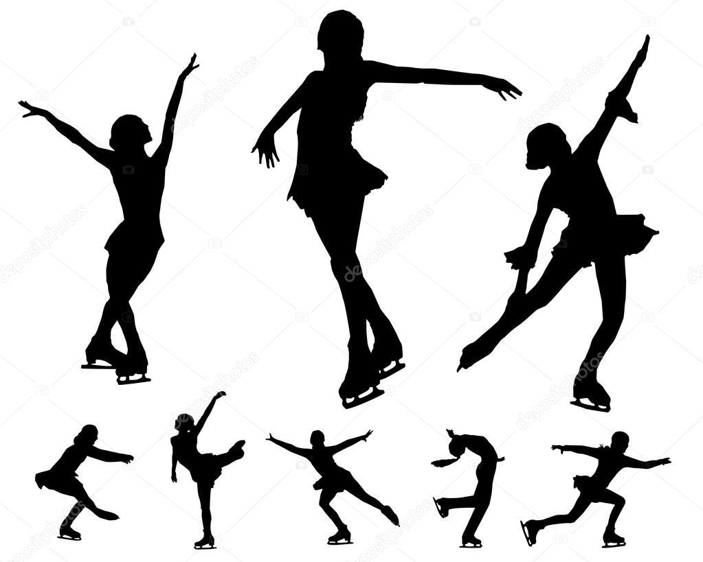 Figure skating vectors