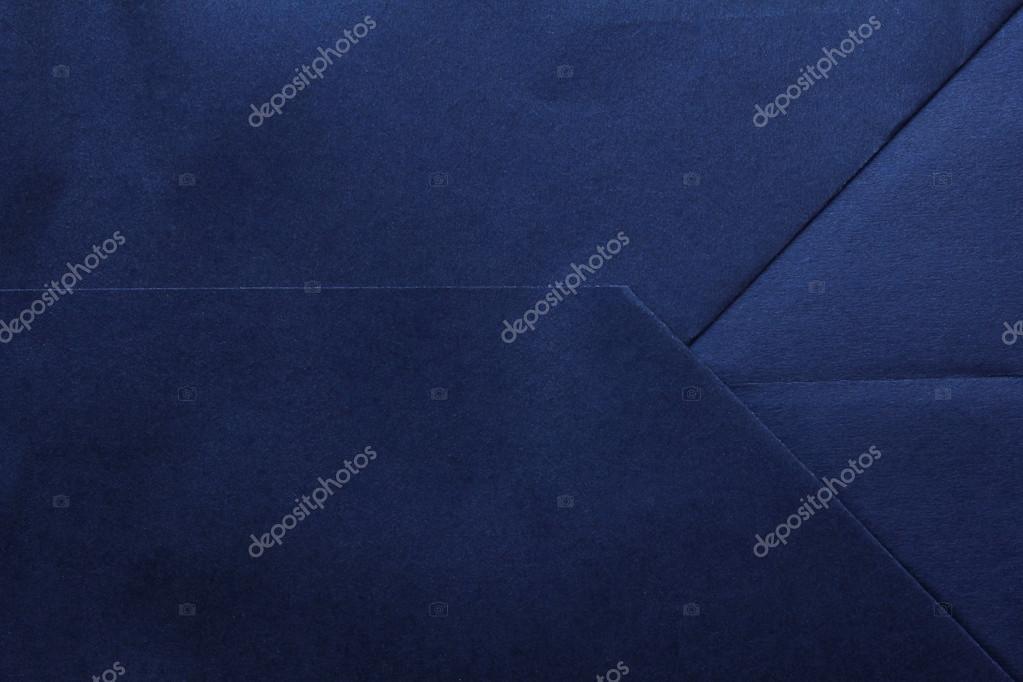 Plano De Fundo Azul Marinho De Papel Dobrado Ou Textura