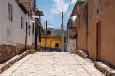 Narrow street in Guanajuato, Mexico