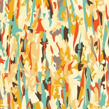 Seamless modern camouflage pattern