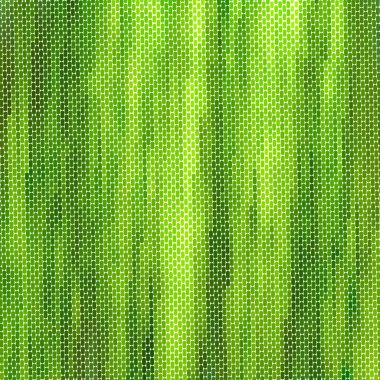 Realistic green canvas texture. Ecology book cover.