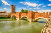 Fotografia Ponte Scaligero (ponte di castelvecchio) a verona, Italia