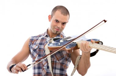 Guitarist or violinist