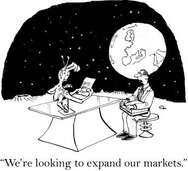 Marketing exec is looking to expand markets