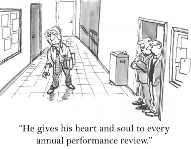 He gives his heart and soul to review