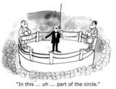 Boxen im Zirkus