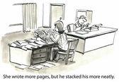 spisovatel výhody