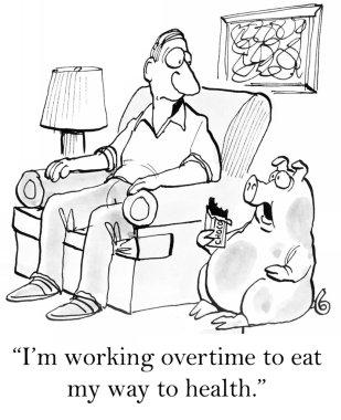 Pig pet eats chocolate