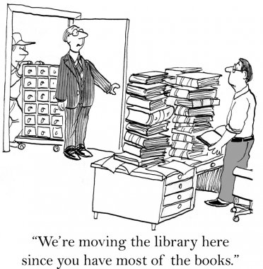 Moving the business library