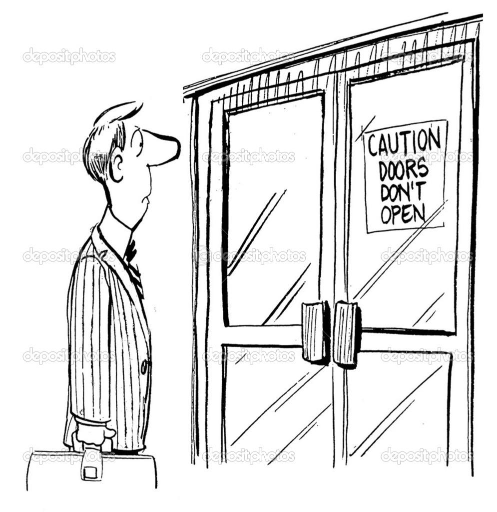 осторожно дверь картинки этого стиля