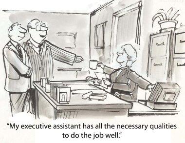 Good executive assistant