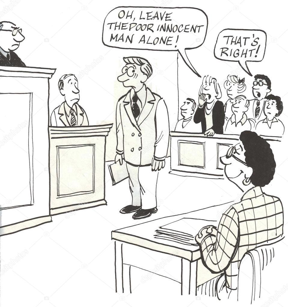 Jury trial in court — Stock Photo © andrewgenn #38900011