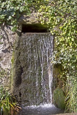 Waterfall in the park of Vorontsov palace