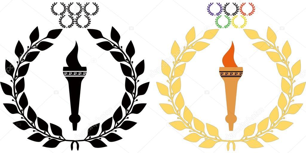 Olympic Symbols Fire Vector De Stock Belyaev71 31391447