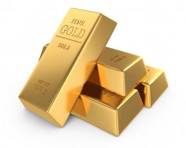 Gold bars concept