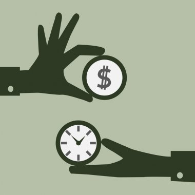 Exchange money and time