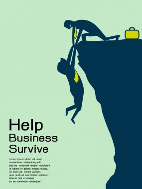 Help businessman survive