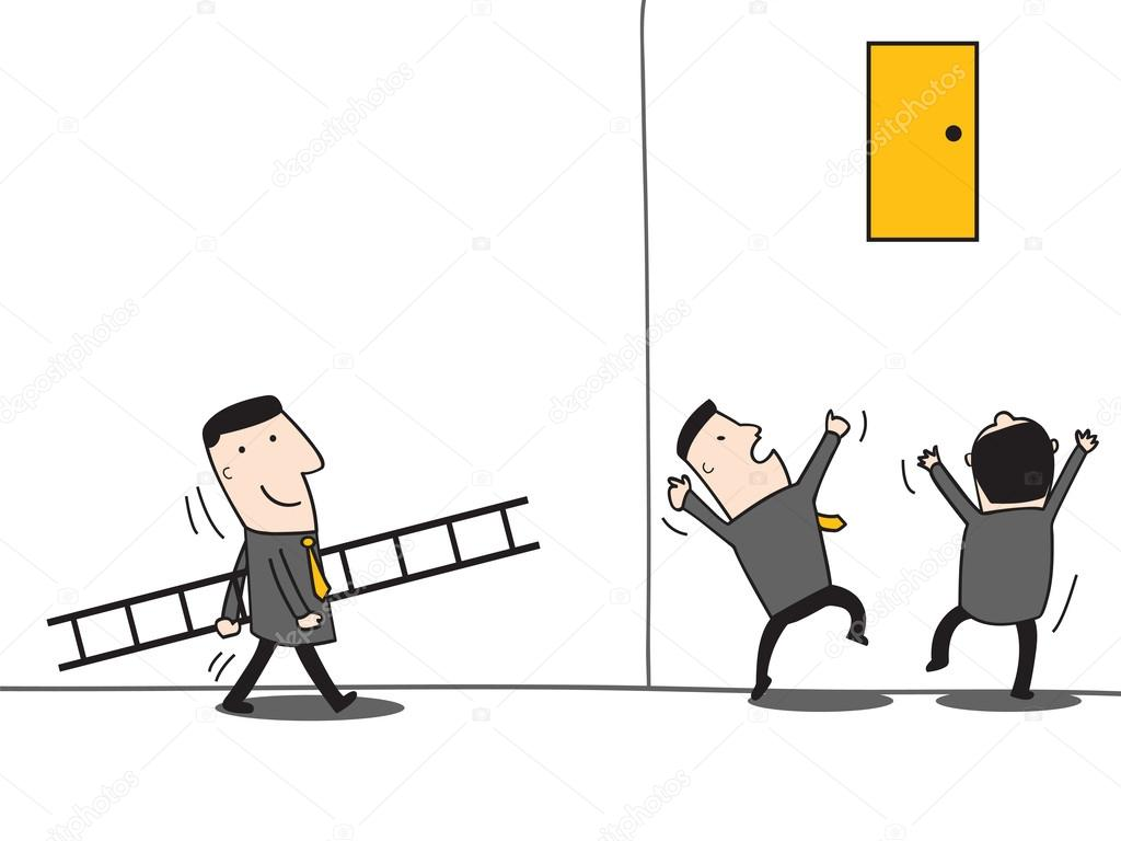 Leadership bring ladder