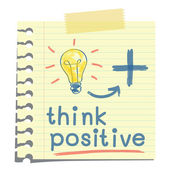 myslet pozitivně