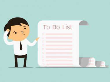 to do list businessman