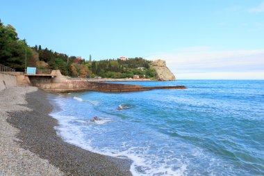 A view in Cape Plaka, Crimea. Ukraine.Russia