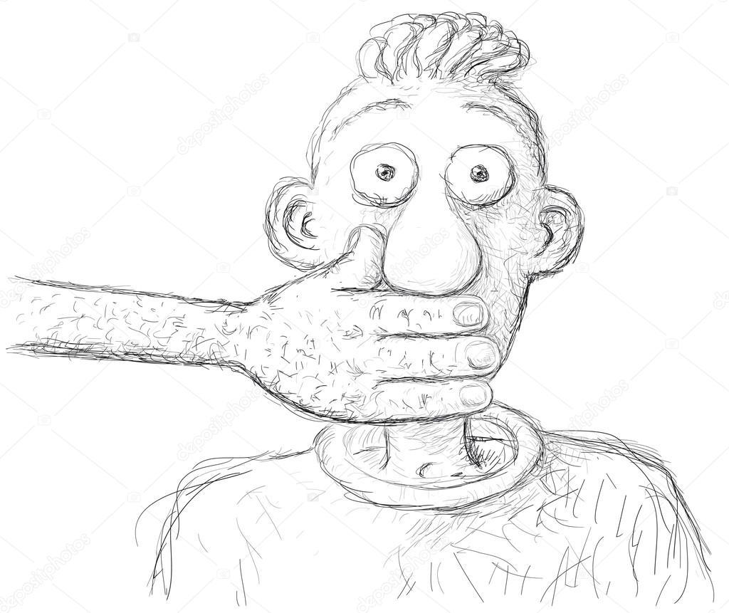 Halt den Mund