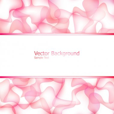 Abstract background with abstract mesh elements