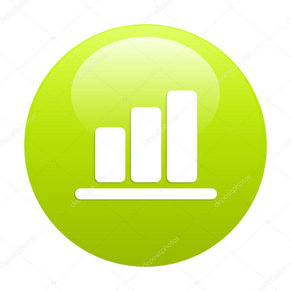 Verde de grfico histogramme internet bouton vetores de stock verde de grfico histogramme internet bouton vetores de stock ccuart Gallery