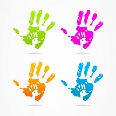 Logo design business hand