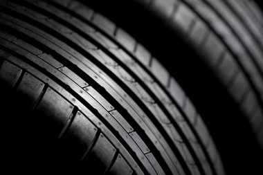 Sport tires isolated
