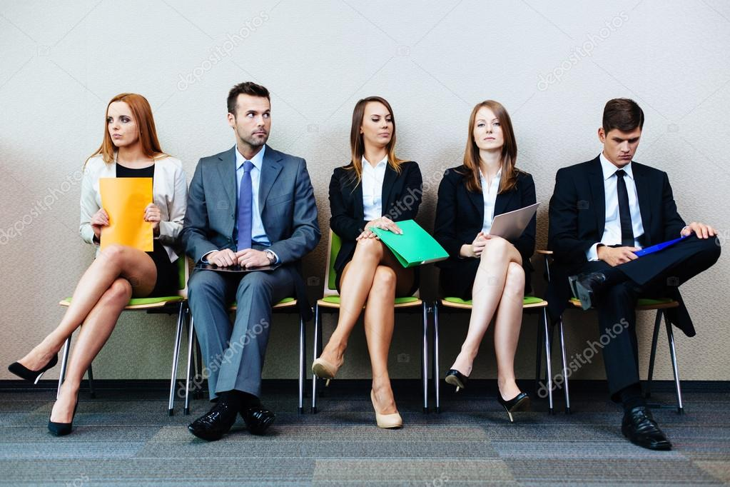Waiting for interview